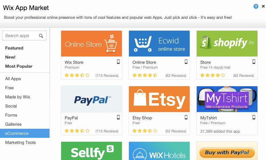 wix-apps-ecommerce